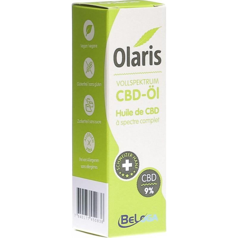 Olaris full spectrum hemp extract 9% (10ml)