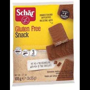 SCHÄR Snack m Schokolade glutenfrei (3 x 35g)