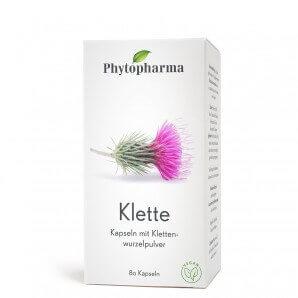 Phytopharma Klette Kapseln 350mg (80 Stk)