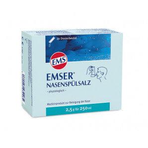 EMSER sel de rinçage nasal (20 sachets x 2,5 g)