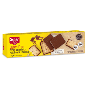 SCHÄR butter biscuit choco gluten-free (130g)