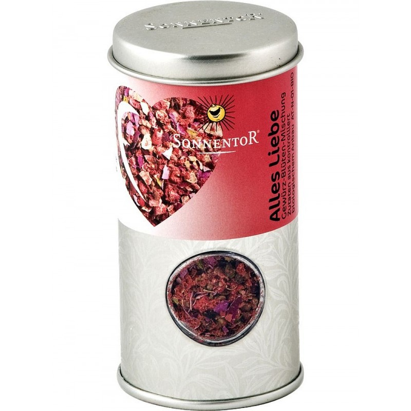 Sonnentor Alles Liebe organic spice and blossom mixture jar (28g)