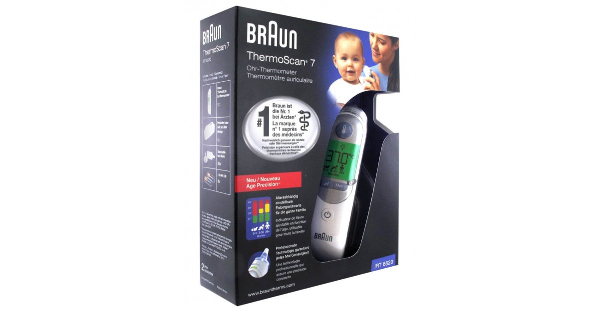 Braun Thermoscan 7 with Age Precision - IRT 6520