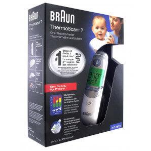 Braun Thermoscan 7 avec Age Precision - IRT 6520