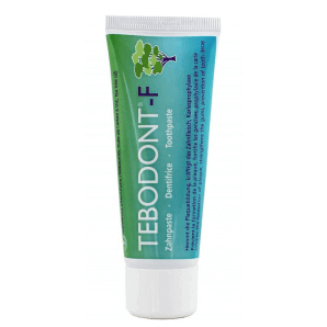 Tebodont-F toothpaste tube (75 ml)