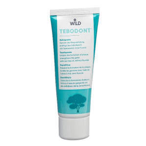 Tebodont toothpaste without fluoride (75 ml)