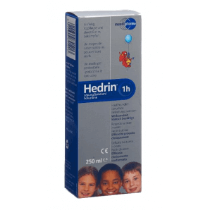 HEDRIN solution against head lice (250 ml)