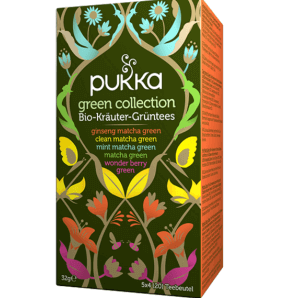 Pukka green collection organic tea (20 bags)