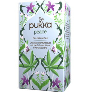 Pukka peace organic herbal tea (20 bags)
