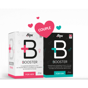 Alpx Booster Couple - 2x boxes (50 capsules)