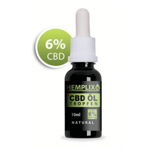 Hemplix CBD oil drops (6%)