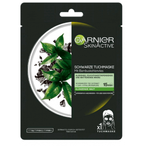 Garnier Skin Active Tissue Mask Charcoal Algae (20 x 28 g)