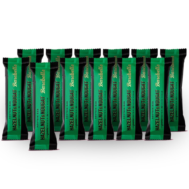 Barebells Hazelnut & Nougat Protein Riegel (12 x 55g)