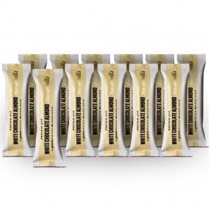 Barebells barres protéinées au chocolat blanc et aux amandes (12 x 55g)