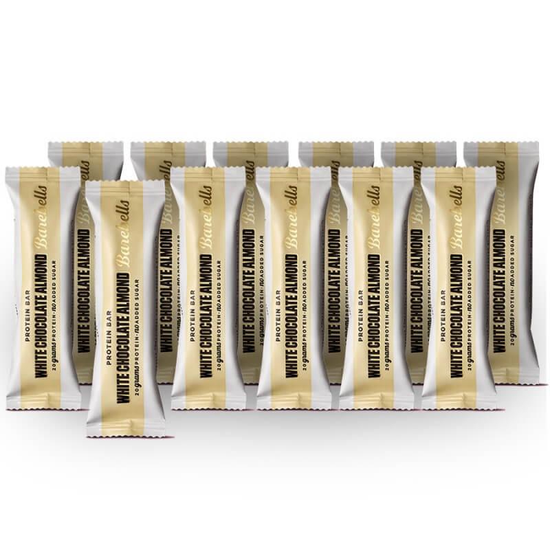 Barebells white chocolate almond protein bars (12 x 55g)