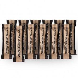 Barebells barres protéinées au caramel et aux noix de cajou (12 x 55g)