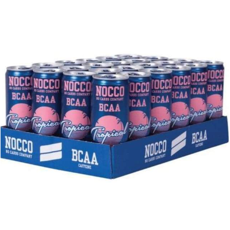 Nocco bcaa Tropical (24x330ml)
