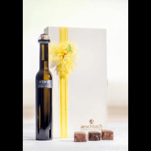 Chriesiblüete Mit Zuger Kirsch - Aeschbach Chocolatier