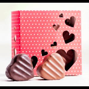 Herzschachtel Pralinés & Truffes - Aeschbach Chocolatier (klein)
