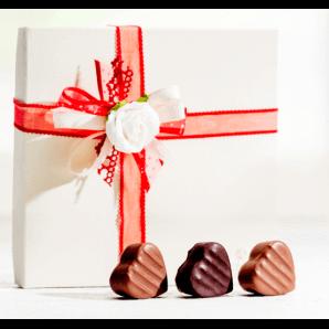 Herzpralinés - Aeschbach Chocolatier