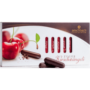 Kirschstängeli sliding box - Aeschbach Chocolatier