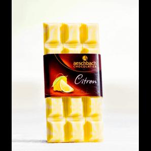 Tafel Création Citron - Aeschbach Chocolatier (100g)