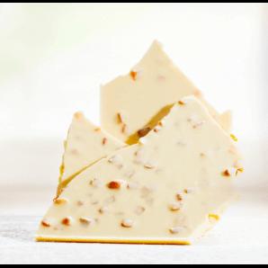 Huusschoggi Weiss Mit Aprikosen- Aeschbach Chocolatier (200g)