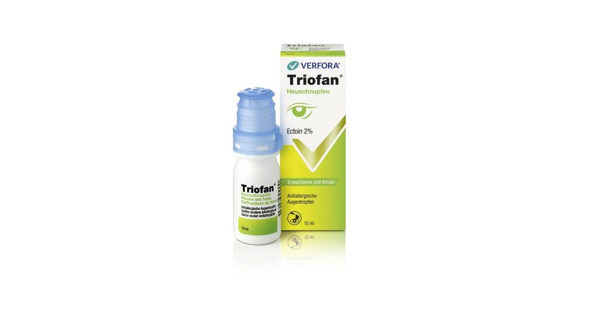 Triofan hay fever anti-allergic eye drops (10ml)