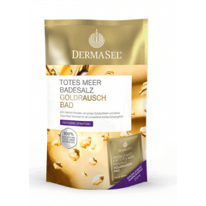 Dermasel - Bath Salt Gold Rush (400g)