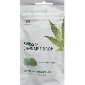 Swiss Cannabis Drop Eukalyptus 120mg CBD (24 pcs)