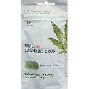 Swiss Cannabis Drop Eukalyptus 120mg CBD (24 Stk)