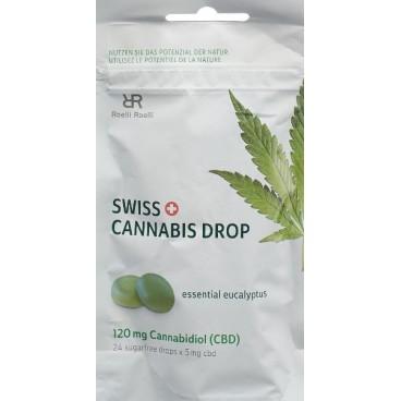 Swiss Cannabis Drop Eukalyptus 120mg (24 Stk)