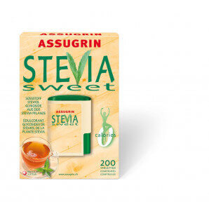Assugrin - Stevia Sweet Tabletten (200 Stk)