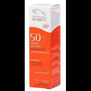 Biarritz Sonnencreme Gesicht LSF50 Dispenser (50 ml)