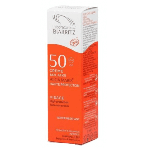 Biarritz sunscreen face SPF 50 dispenser (50 ml)