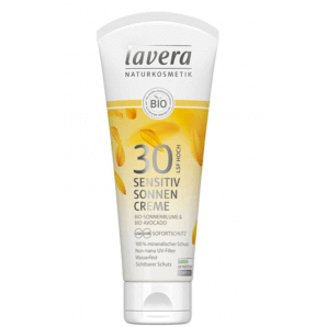 Lavera Sensitiv sun cream SPF 30 tube (100 ml)
