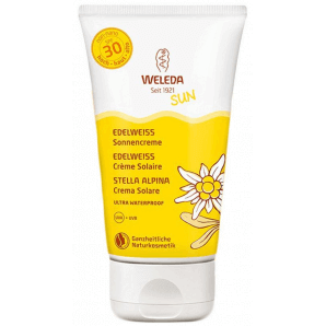 Weleda Edelweiss sunscreen SPF30 tube (150 ml)