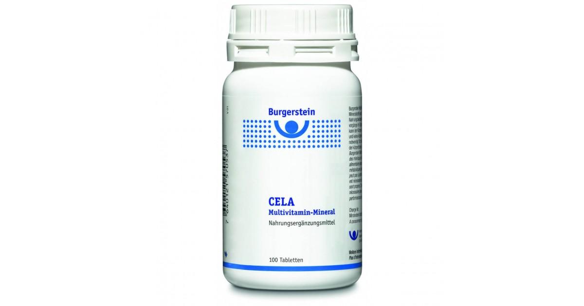 Burgerstein CELA Multivitamin Mineral (100 Tabletten)