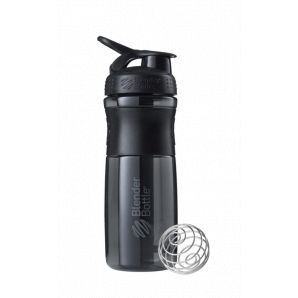 BlenderBottle Sport Mixer Tritan Grip Black/Black (820ml)