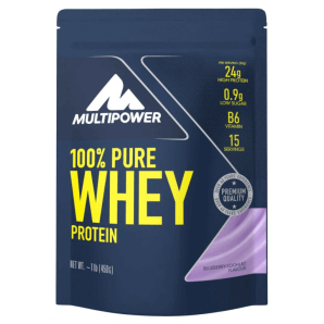 Multipower 100% Pure Whey Protein Blueberry Yoghurt Bag (450g)