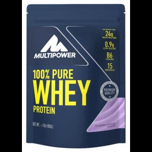 Multipower 100% Pure Whey Protein Blueberry Yoghurt Sachet (450g)