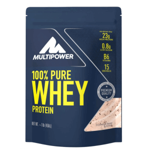 Multipower 100% Pure Whey Protein Cookies & Cream Beutel (450 g)