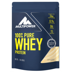 Multipower 100% Pure Whey Protein French Vanilla Bag (450g)
