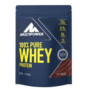 Multipower 100% Pure Whey Protein Rich Chocolate Bag (450g)