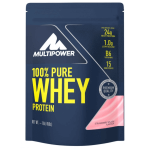 Multipower 100% Pure Whey Protein Strawberry Splash Bag (450g)
