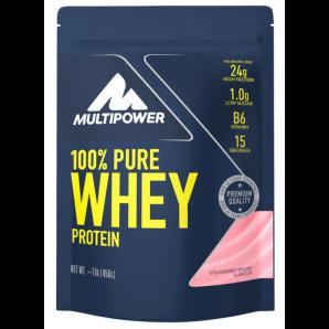 Multipower 100% Pure Whey Protein Strawberry Splash Sachet (450g)