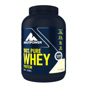 Multipower 100% Pure Whey Protein French Vanilla Can (900g)