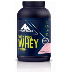 Multipower 100% Pure Whey Protein Strawberry Splash Can (900g)