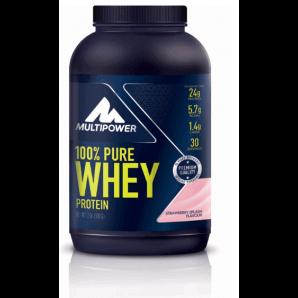 Multipower 100% Pure Whey Protein Strawberry Splash Dose (900g)