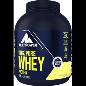 Multipower 100% Pure Whey Protein Banana Mango Pouvez (2000g)